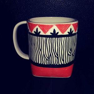 Anthropologie Dining - Kristina Saywell For Anthropologie Mug/Cup KRAFTY